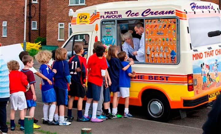 Большой спрос на мороженое летом