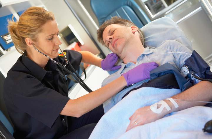 Диагностика, обследование сотрудниками скорой помощи