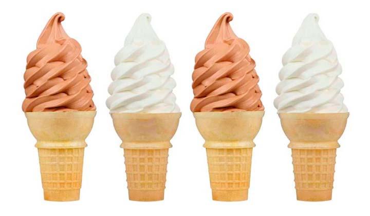 Процесс изготовления мягкого мороженого