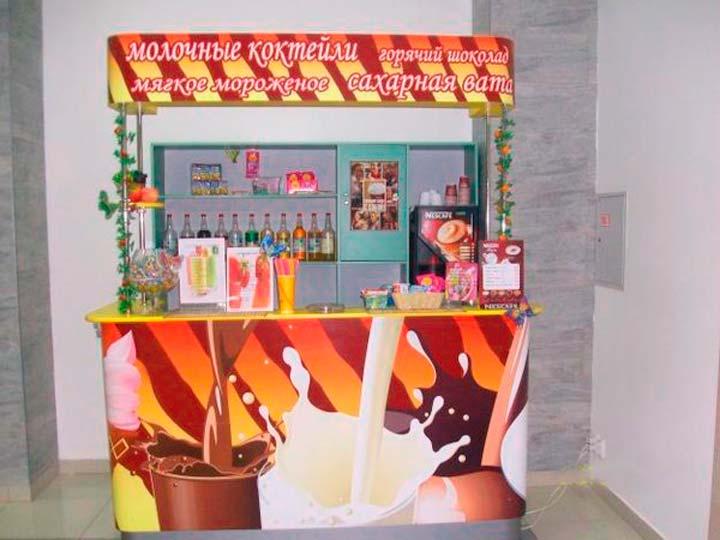 Продажу мягкого мороженого можно легко переключить на продажа молочных коктейлей