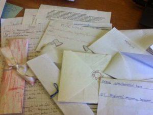 - письмо-заявление - сведения о намерениях лица-отправителя,