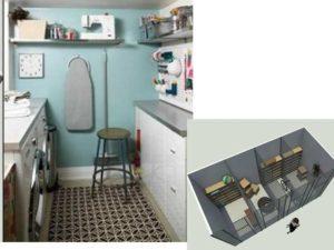 Подсобным помещением может быть небольшая ниша в квартире