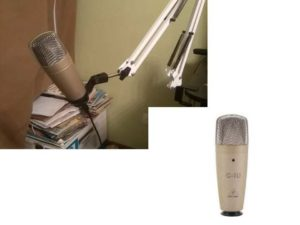 Этот микрофон разрабатывался на основе предшествующей модели