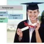 В обоих случаях первые два года обучения студентов изучают общие предметы, после чего идёт разделение.