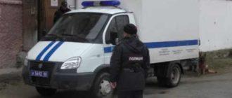 полицейская авто